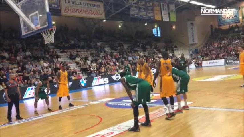 Basket-ball (Pro B) : Evreux mate Le Portel