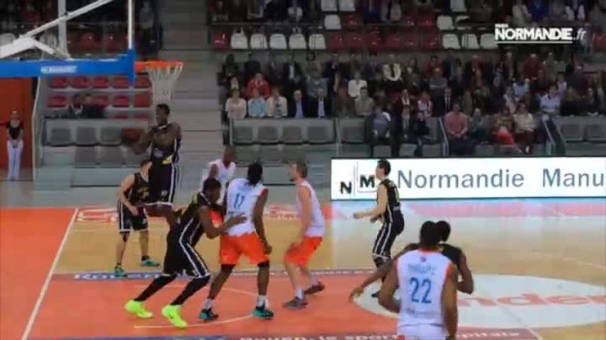 Basket-ball : le SPO Rouen respire un peu mieux