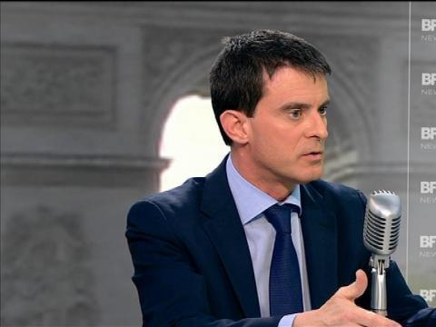 """Manuel Valls: """"Les deux Normandie peuvent parfaitement fusionner"""" - 09/04"""