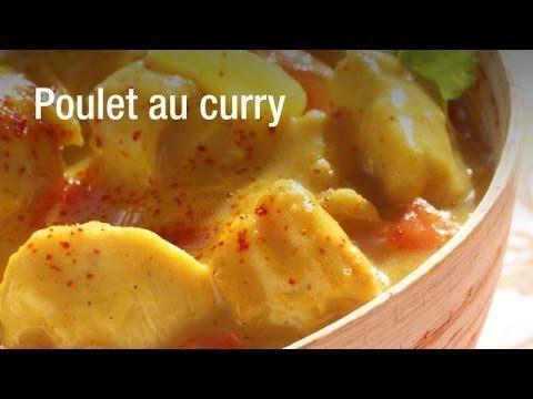 recette du poulet au curry et son riz cuisineaz sur orange vid os. Black Bedroom Furniture Sets. Home Design Ideas