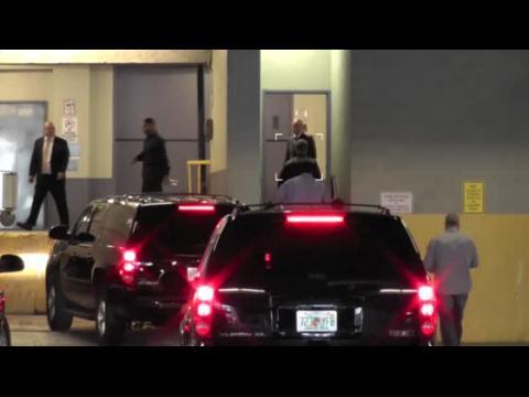 Justin Bieber arrive à Miami pour faire une déposition