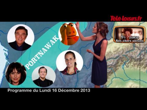 Quand la Speakerine devient Miss Météo... (programmes du 16 décembre)