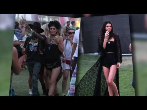 Les looks de Kylie et Kendall Jenner à Coachella