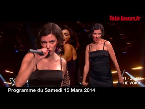 La Speakerine se met au rap ! (programmes du 15 mars)