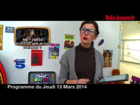 La Speakerine remplacée par... sa soeur ! (programmes du 13 mars)