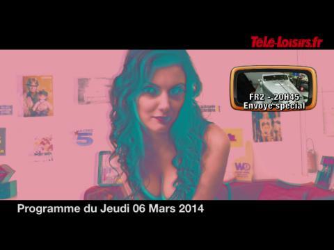 La Speakerine se met à la 3D et touche Thierry Ardisson (programmes du 6 mars)