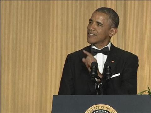 ZAPPING - Les 5 meilleures blagues de Barack Obama au dîner des correspondants - 04/05