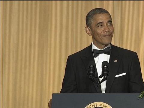 Barack Obama sa moque des républicains - 04/05