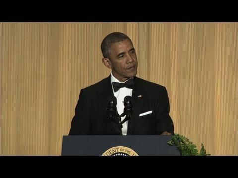 Quand Obama blague avec les correspondants..