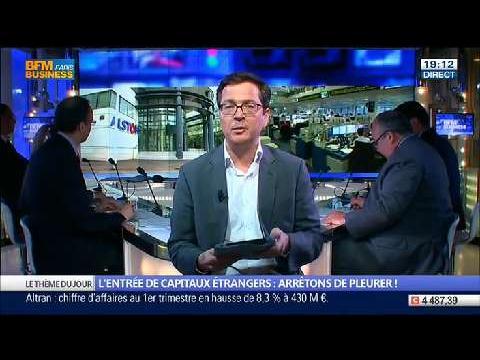 L'entrée de capitaux étrangers: est-ce une chance pour les entreprises françaises ?, dans Les Décodeurs de l'éco - 30/04 1/5