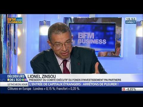 L'entrée de capitaux étrangers: est-ce une chance pour les entreprises françaises ?, dans Les Décodeurs de l'éco - 30/04 3/5