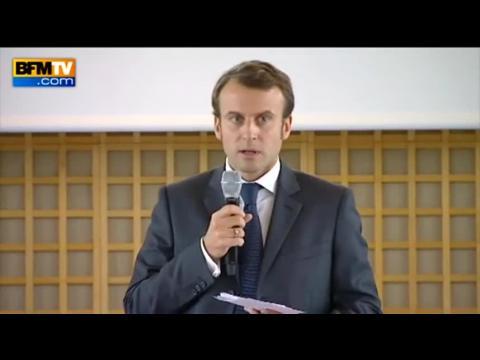 """Emmanuel Macron: """"la complexité est une maladie française"""""""