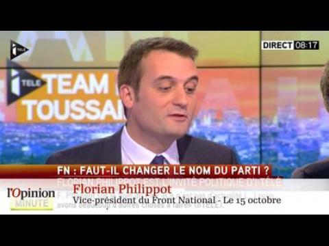 La polémique du jour : Marine Le Pen va-t-elle changer le nom du FN ?