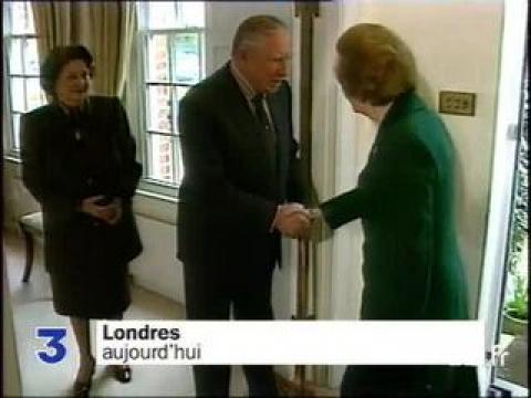 Thatcher et Pinochet