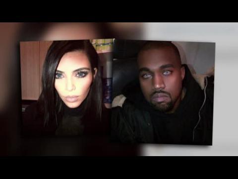 Kim Kardashian et Kanye West ont un nouveau look de loup