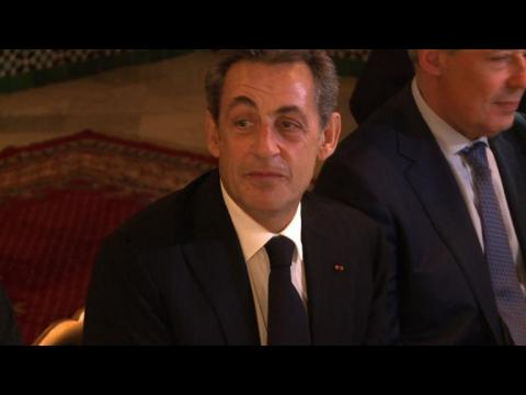 Visite de Nicolas Sarkozy à la Grande Mosquée de Paris