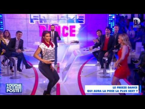 Danse torride entre Shy'm et Enora Malagré - ZAPPING PEOPLE DU 17/03/2015