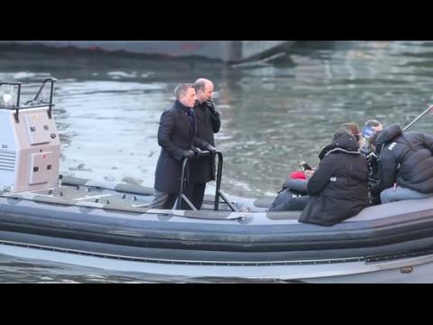 Daniel Craig retourne sur le plateau de James Bond à Rome
