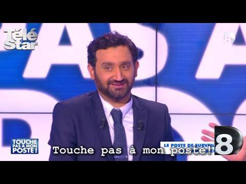 Touche pas à mon poste ! - Cyril Hanouna vomit de rire - Mercredi 18 février 2015