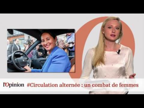 tweetclash : #Circulation alternée : un combat de femmes