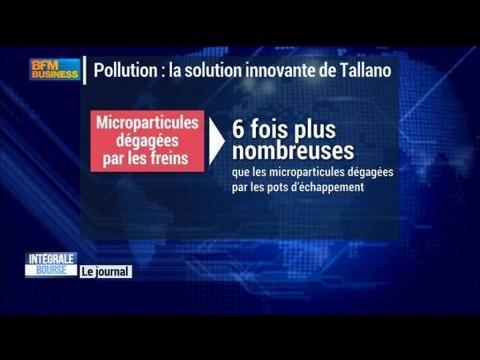 Pollution aux particules fines : la solution innovante de Tallano