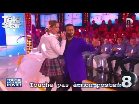 Touche pas à mon poste - Sandrine Quétier en Britney Spears - Jeudi 5 février  2015