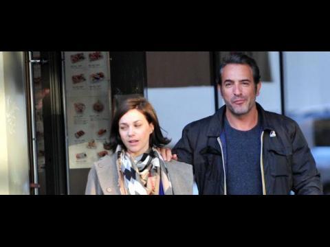 Nathalie p chalat enceinte de son premier enfant avec jean for Jean dujardin et sa fille