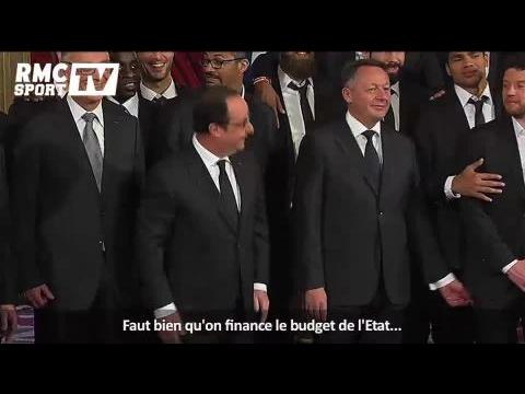 Handball / François Hollande présente son nouveau gouvernement - 03/02