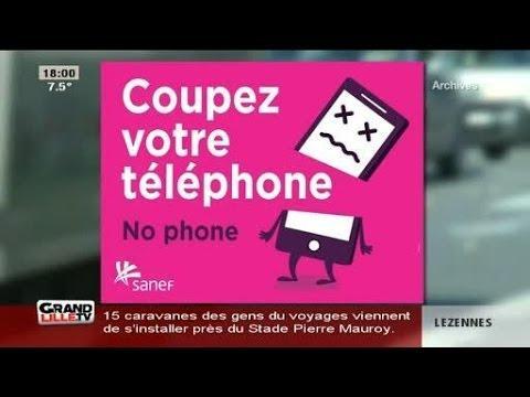 Téléphone au volant, un enjeu majeur pour 2015 (Nord)