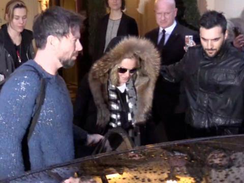 Exclu Vidéo : Madonna a quitté la France !