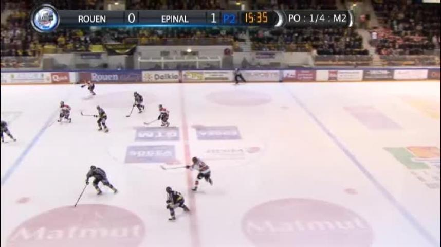 100% Dragons - Match - Rouen - Epinal match 2