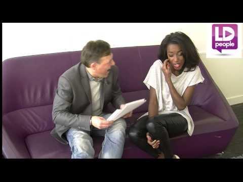 Hapsatou Sy en interview avec Lionel Durel pour PROJET FASHION D8