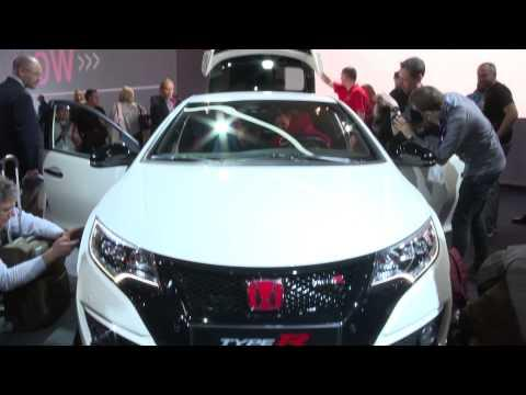 Geneva International Motor Show 2015 - Honda Civic Type R   AutoMotoTV