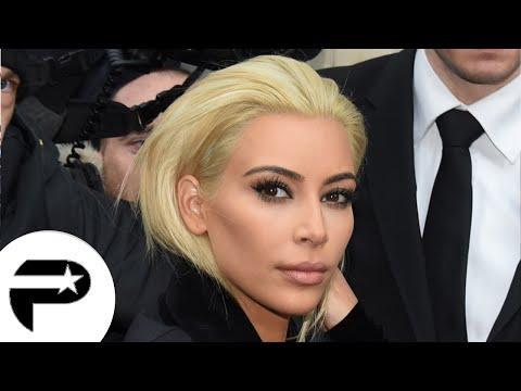 Kim Kardashian change de look : Blond platine, elle se fait rock !