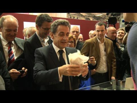 Nicolas Sarkozy au Salon de l'agriculture