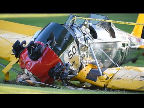 Harrison Ford s'est fait opérer après un accident d'avion