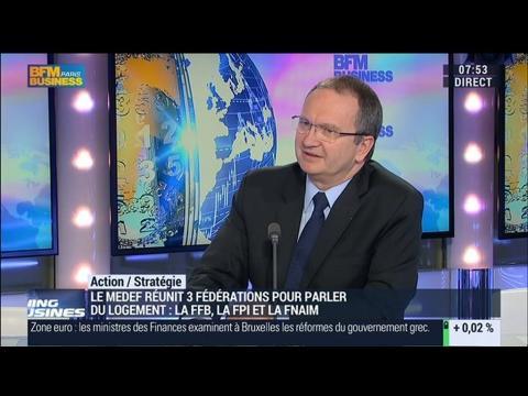 Logement et bâtiments: bientôt une priorité en France ?: Jacques Chanut - 09/03