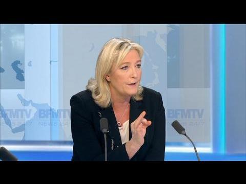 """Assistants parlementaires FN soupçonnés de fraude: """"C'est totalement faux"""", estime Marine Le Pen"""