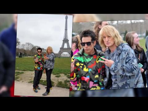 Ben Stiller et Owen Wilson continuent de faire parler à la Semaine de la Mode à Paris avec l'annonce de Zoolander 2