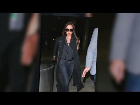 Victoria Beckham et sa famille voyagent avec style