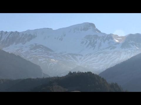 Spanish relatives leave for crash site in France