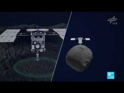 Japanese space prove lands on distant asteroid