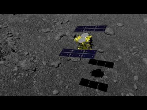 Touchdown on asteroid: Japan probe lands successfully