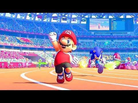 TOKYO 2020 Official Video Games Trailer (2020) Mario