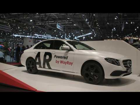 Augmented Reality in Cars presentation at Geneva 2019