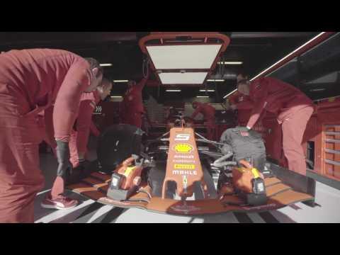 Ferrari Box - Ferrari SF90 testing for the F1 Season 2019