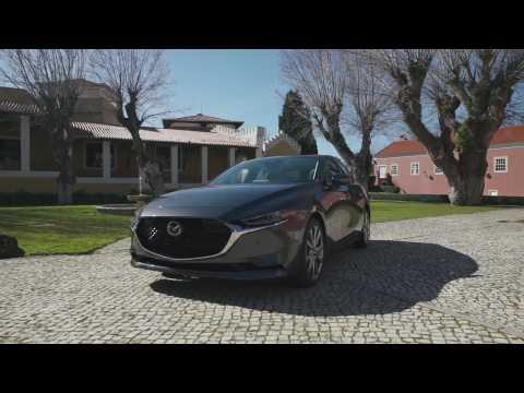 All-New Mazda3 Sedan US specification Design in Machine Grey