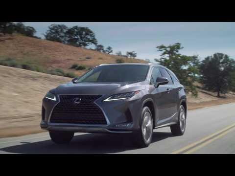 2020 Lexus RX 450hL Driving Video