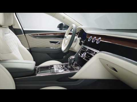 2019 New Bentley Flying Spur Interior Design