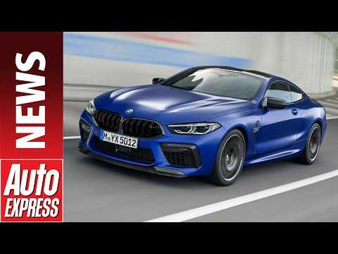 New 616bhp BMW M8 Competition revealed